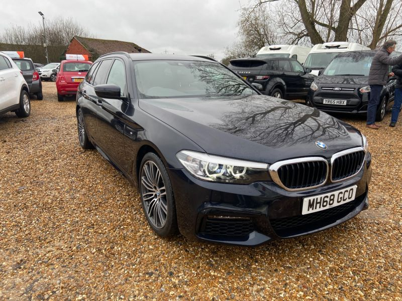 Used BMW 5 SERIES 520D M SPORT TOURING in Hampshire for sale