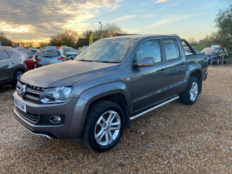 Used VOLKSWAGEN AMAROK DC TDI HIGHLINE 4MOTION in Hampshire for sale