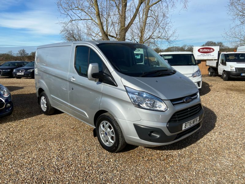 Used FORD TRANSIT CUSTOM 290 LIMITED LR P/V in Hampshire for sale